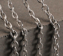 Sterling Silver T Chain Necklaces